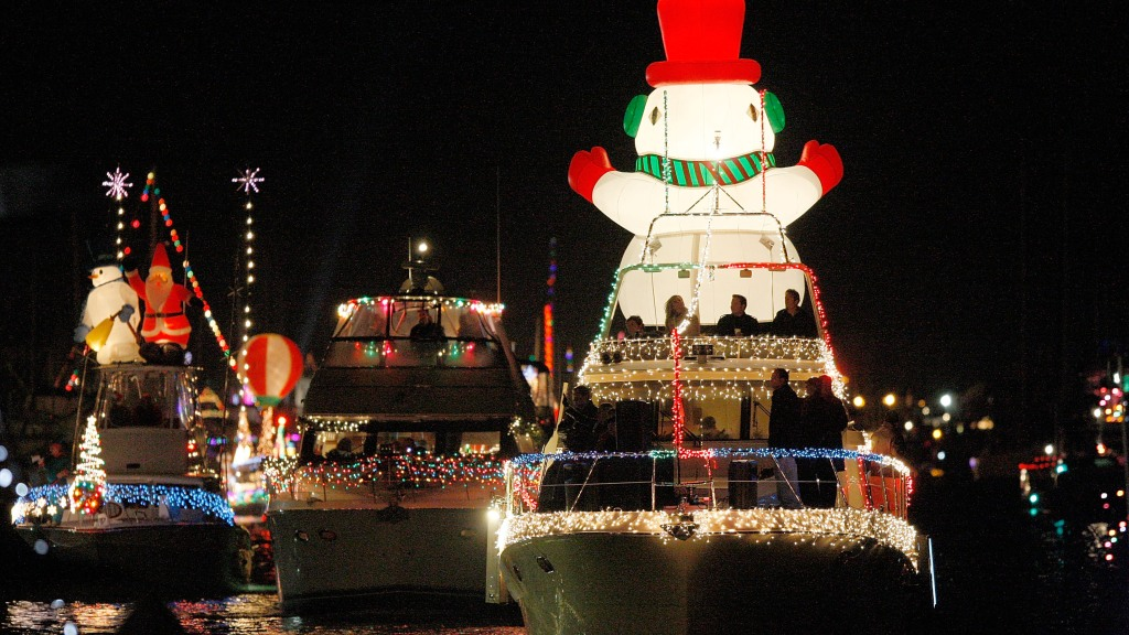 Christmas Boat Decorations.Best Holiday Lighted Boat Parades Around Tampa Bay Cbs Tampa