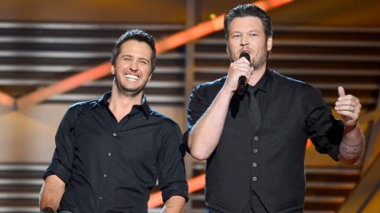 Luke Bryan and Blake Shelton (Ethan Miller/Getty Images)