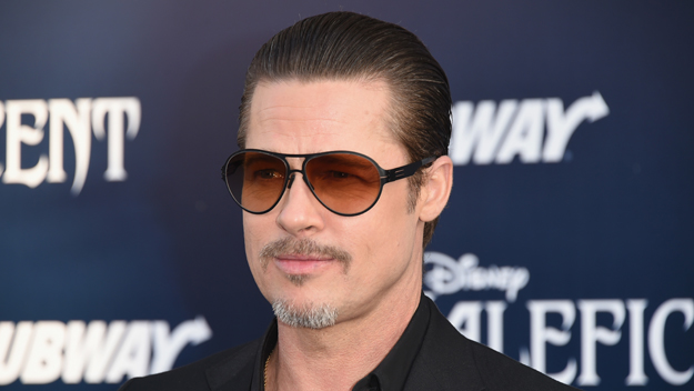"Brad Pitt at the ""Maleficent"" Premiere (Photo Credit: Jason Merritt/Getty Images)"