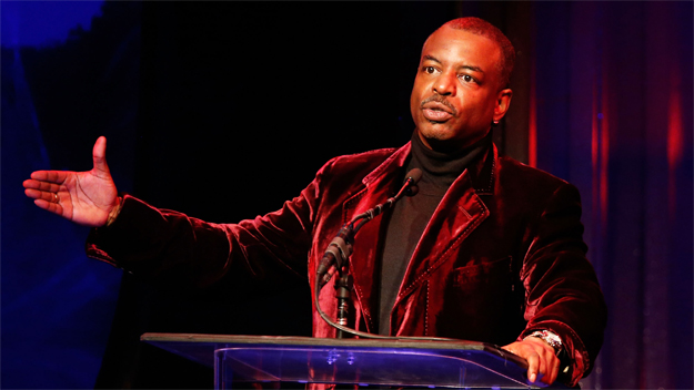 "Levar Burton, Former Host and Producer of ""Reading Rainbow"" (Photo Credit: Imeh Akpanudosen/Getty Images)"
