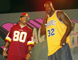 File photo of NBA legend Shaquille O'Neal and rapper Method Man performing. (Photo by Frazer Harrison/Getty Images)