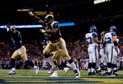 File photo of former St. Louis Rams defensive tackle, La'Roi Glover. (Photo by Dilip Vishwanat/Getty Images)