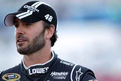 File photo of Jimmie Johnson. (Photo by Jeff Bottari/Getty Images for NASCAR)
