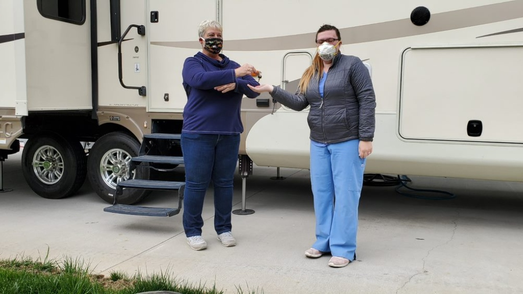 'I Felt Like I Was Sent Two Angels': Facebook Group Pairs Up Medical Workers With RVs To Self-Isolate During Coronavirus Pandemic