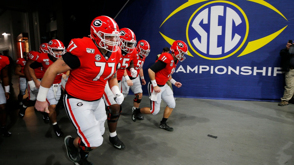Uga Football Unveils New Sec 2020 Season Schedule Cbs Tampa