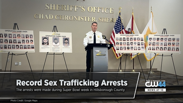 Sex Trafficking Bust During Super Bowl Week In Tampa Results In Record Arrests