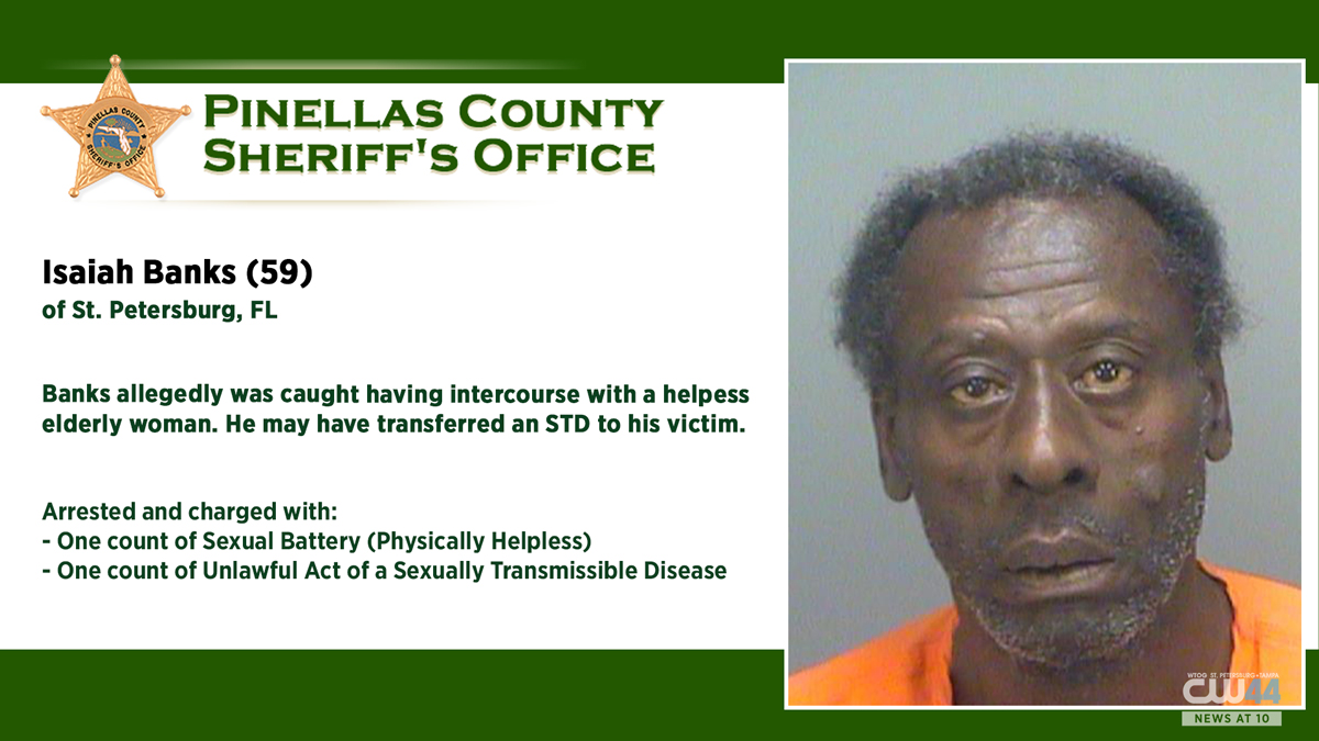 Florida Man With STD Arrested For Sexually Battering A 76-Year-Old Woman